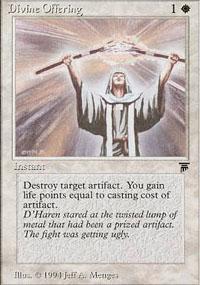 Divine Offering Magic Card