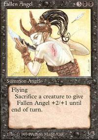 Fallen Angel Magic Card