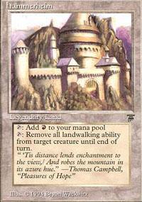 Hammerheim Magic Card