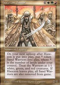 Hazezon Tamar Magic Card