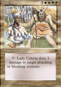 Lady Caleria Magic Card