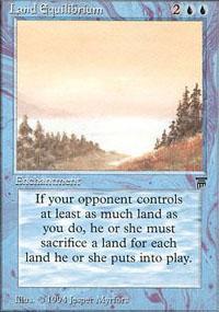 Land Equilibrium Magic Card