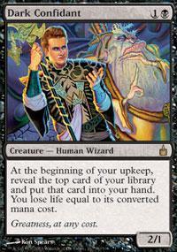 Dark Confidant Magic Card