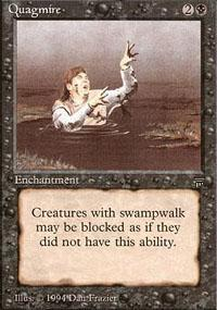Quagmire Magic Card