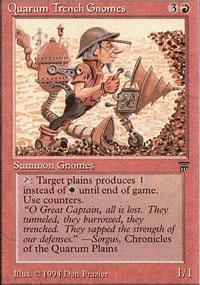 Quarum Trench Gnomes Magic Card
