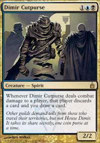 Dimir Cutpurse Magic Card
