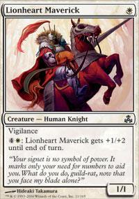 Lionheart Maverick Magic Card