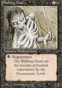 Walking Dead Magic Card