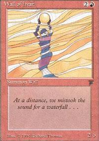 Wall of Heat Magic Card