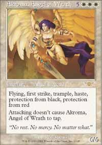 Akroma, Angel of Wrath Magic Card