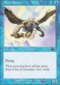 Aven Envoy Magic Card