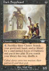 Dark Supplicant Magic Card
