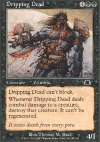 Dripping Dead Magic Card