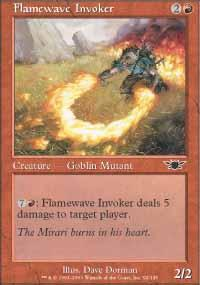 Flamewave Invoker Magic Card