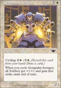 Gempalm Avenger Magic Card