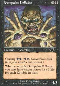 Gempalm Polluter Magic Card
