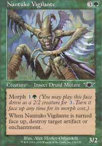 Nantuko Vigilante Magic Card