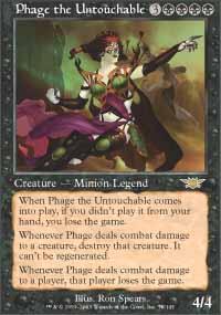 Phage the Untouchable Magic Card