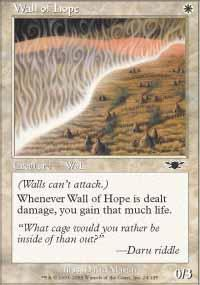 Wall of Hope Magic Card