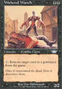 Withered Wretch Magic Card
