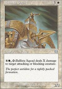Ballista Squad Magic Card