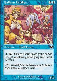 Balloon Peddler Magic Card