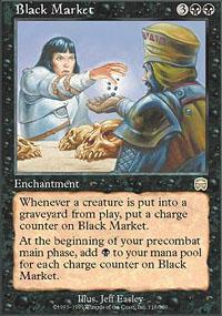 Black Market Magic Card