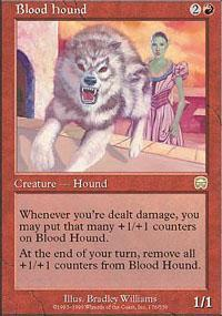 Blood Hound Magic Card
