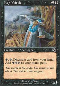 Bog Witch Magic Card