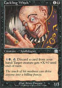 Cackling Witch Magic Card