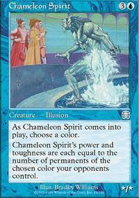 Chameleon Spirit Magic Card