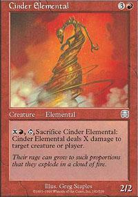 Cinder Elemental Magic Card