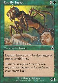 Deadly Insect Magic Card