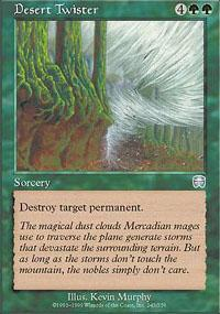 Desert Twister Magic Card