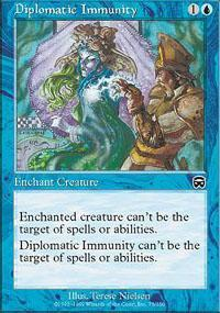 Diplomatic Immunity Magic Card