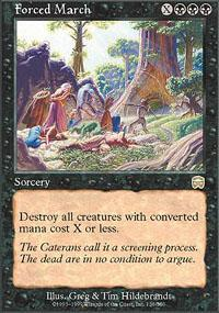 Forced March Magic Card