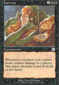 Larceny Magic Card