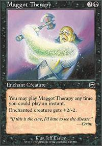 Maggot Therapy Magic Card