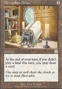 Mercadian Atlas Magic Card