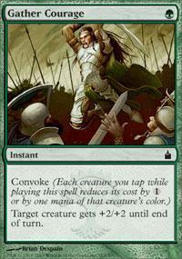 Gather Courage Magic Card