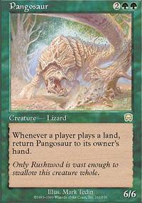 Pangosaur Magic Card