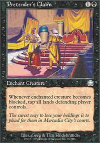 Pretender's Claim Magic Card