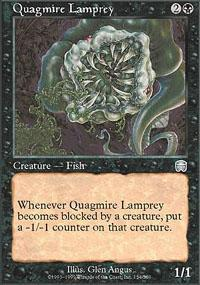 Quagmire Lamprey Magic Card