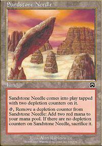 Sandstone Needle Magic Card