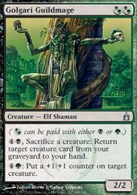 Golgari Guildmage Magic Card