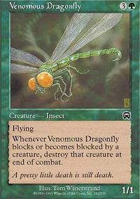 Venomous Dragonfly Magic Card