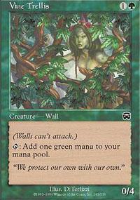 Vine Trellis Magic Card