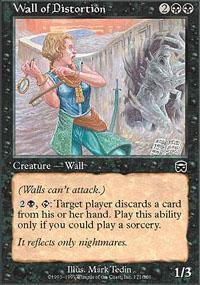 Wall of Distortion Magic Card