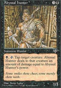 Abyssal Hunter Magic Card