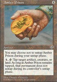 Amber Prison Magic Card